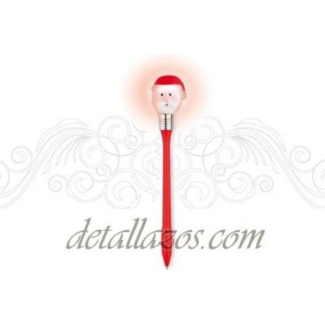 bolígrafo de papa noel personalizado para empresas