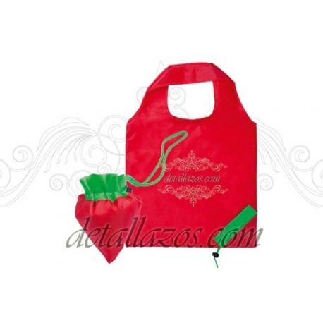 bolsas plegables con forma de frutas