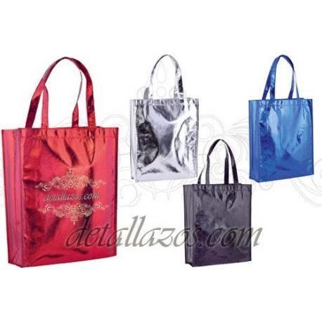 bolsos de brillo satin personalizados