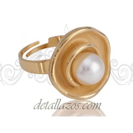 Anillos para mujer de Antonio Miro con perlas