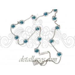 Collar azul turquesa de Pertegaz
