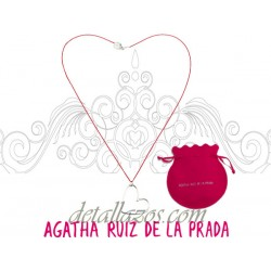 Collar de corazón Agatha Ruiz de la Prada