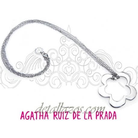 Collar con flor Agatha Ruiz de la Prada