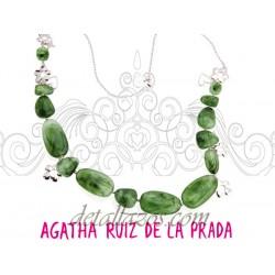 Collar verde Agatha Ruiz de la Prada