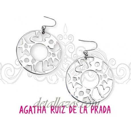 Pendientes calado Agatha Ruiz de la Prada
