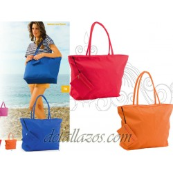 Bolsos para la playa con neceser