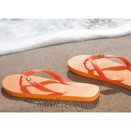Chanclas brasileñas para la playa