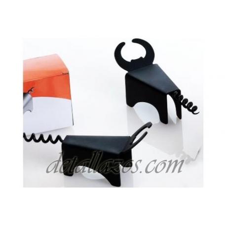 sacacorchos de toro