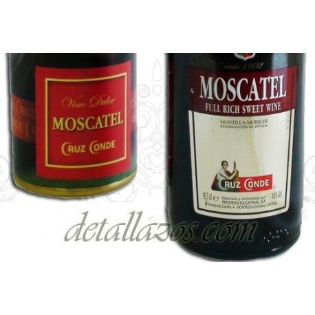 vino moscatel en estuche