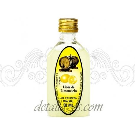 licor de limón para bodas