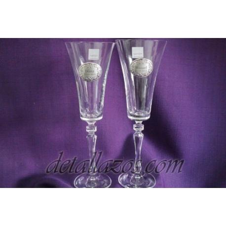 copas de brindis para bodas