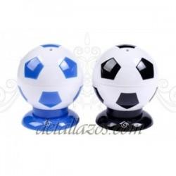 Palillero balón fútbol