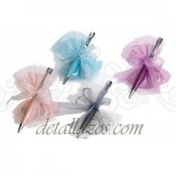 Bolígrafo Para Bodas Perlitas y bombones