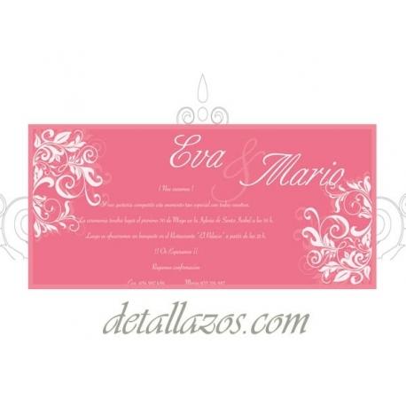 invitaciones baratas de boda