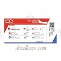 Invitación de billete de avión