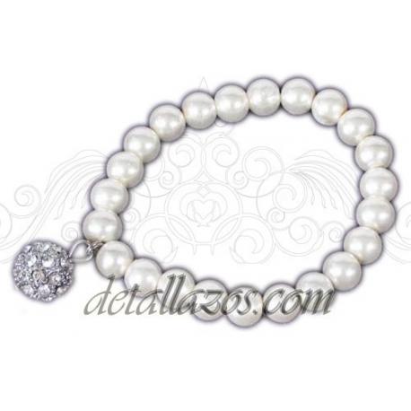 Pulseras de perlas para bodas