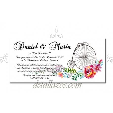 invitaciones boda elegante
