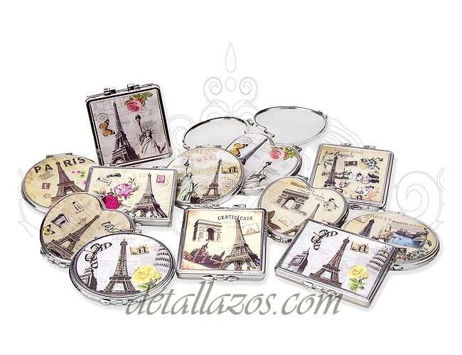 Regalos vintage para bodas adornos con blondas para bodas for Espejos originales baratos