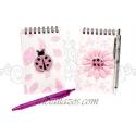 Libretas con bolígrafos