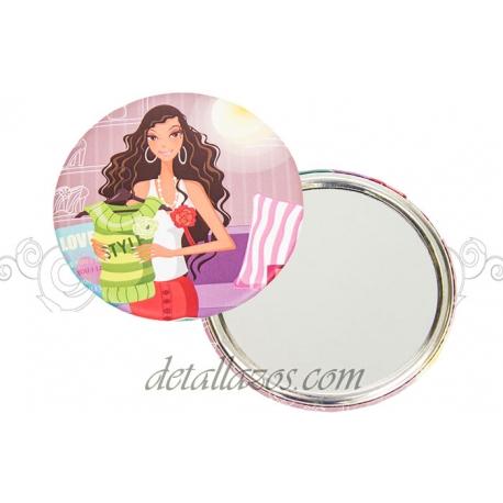 Espejos baratos para bodas vintage detalles de boda - Espejos originales baratos ...