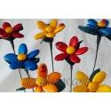 Flores de peladillas