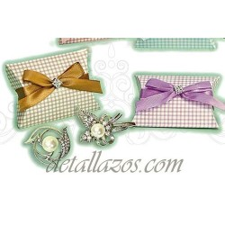 Broches con Perlas