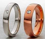 anillos para novios Aurum
