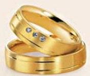 anillos de compromiso Aurum