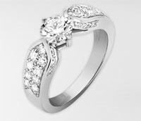 anillos de compromisos de Chaumet