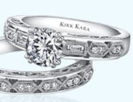 Anillos y alianzas de Kirk Kara colección Amelia