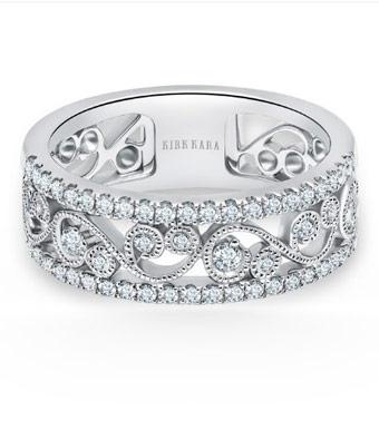 anillos y alianzas para novios Kirk Kara Angelique