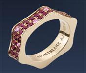 anillos y alianzas de boda con Rubi de Mont blanc
