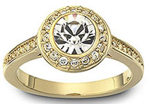 anillos y alianzas de boda de Tous