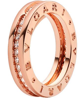 anillos de boda de bulgari