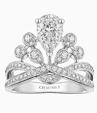 anillos de compromisos Chaumet