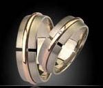 anillos de compromiso Prieto