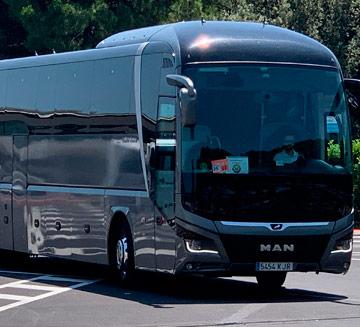 alquiler de autobuses para bodas en Madrid