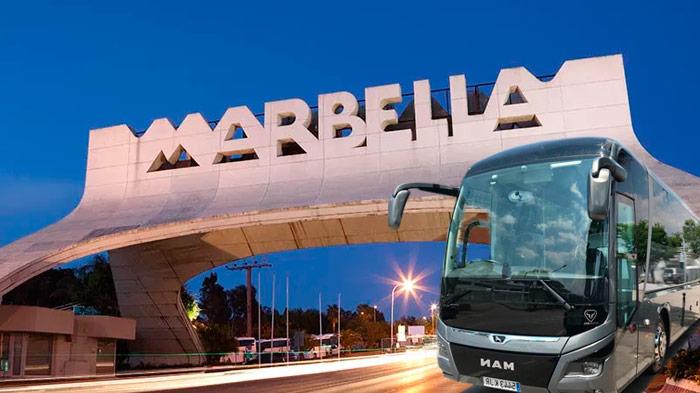alquiler autobuses para bodas en marbella