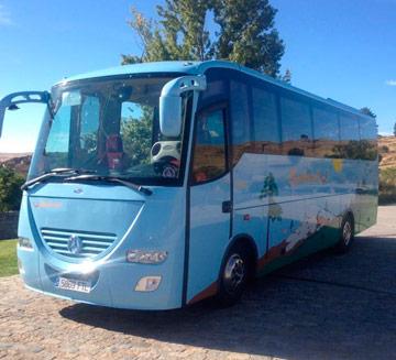 alquiler de autocares para boda en Murcia