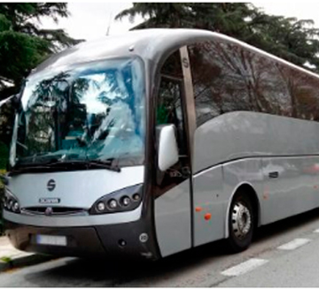 Alquiler de autobuses 38 para bodas en Marbella