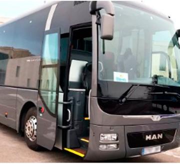 Alquiler de autobuses 53 para bodas en Marbella