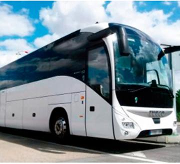 Alquiler de autobuses 55 para bodas en Marbella