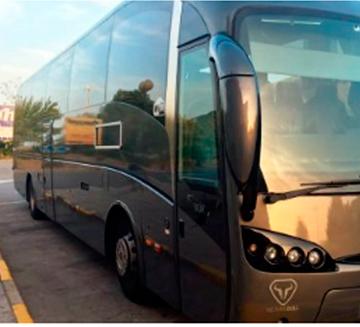 Alquiler de autobuses 59 para bodas en Marbella