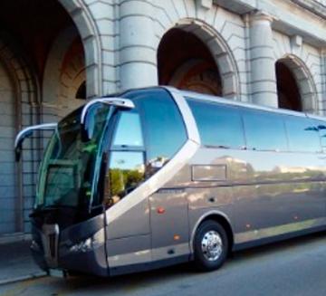 Alquiler de autobuses 63 para bodas en Marbella
