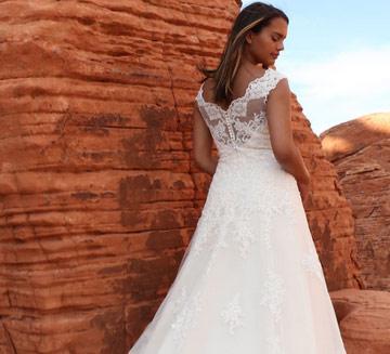 vestidos de novia de Da Vinci