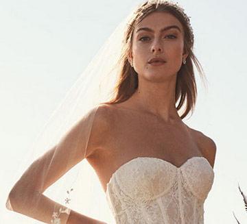 vestidos de novia de David Bridal