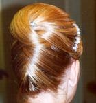 peinados de novias altos