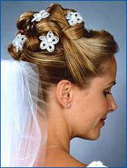 recogidos altos para novias