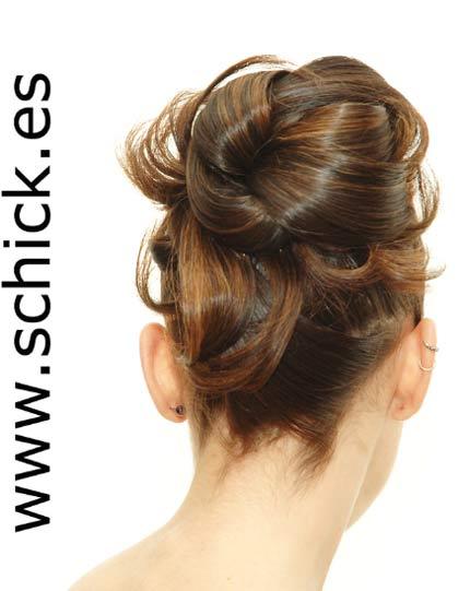 Schick peinados de novia paso a paso