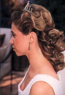 Peinados con tiaras